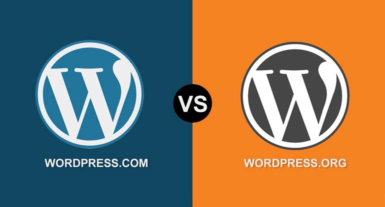 Wordpress.com Wordpress.org