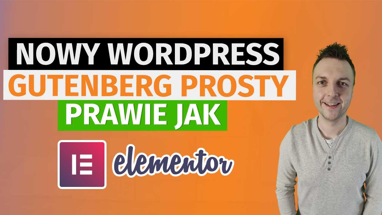 Gutenberg jak WordPress